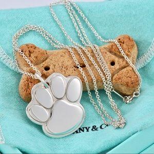 Tiffany & co. 1999 Dog paw necklace.